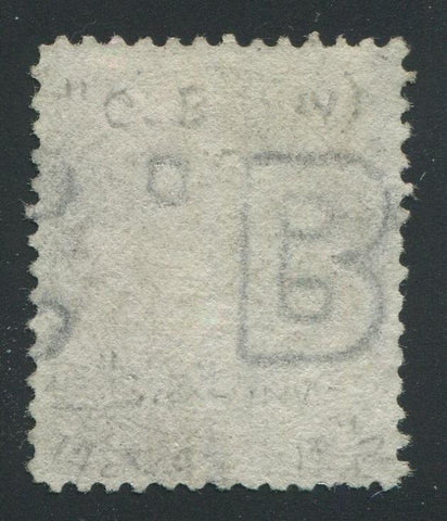0029CA1708 - Canada #29c - Used, Watermarked Bothwell Paper