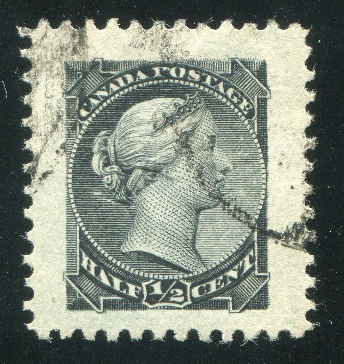0034CA1710 - Canada #34vii - Used Major Re-Entry
