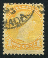 0035CA1710 - Canada #35viii - Used 'Strand of Hair' Variety