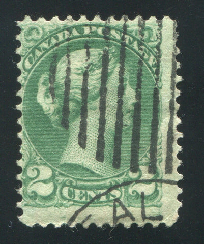 0036CA1708 - Canada #36iv - Used, Latent Re-Entry