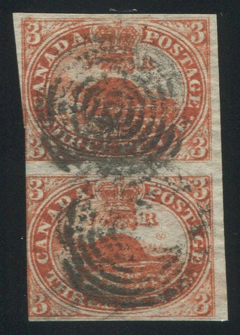 0004CA1709 - Canada #4d Pair - Deveney Stamps Ltd. Canadian Stamps