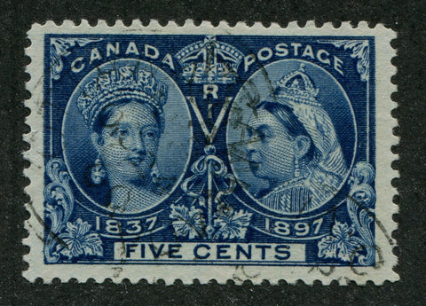 0054CA1708 - Canada #54ii - Used, Major Re-entry