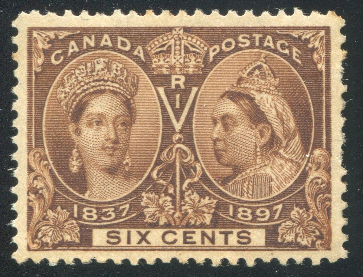 0055CA1710 - Canada #55i - Mint Major Re-Entry