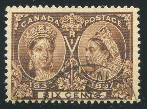 0055CA1710 - Canada #55i - Used Major Re-Entry