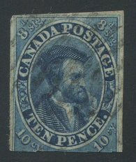 0007CA1709 - Canada #7 - Deveney Stamps Ltd. Canadian Stamps