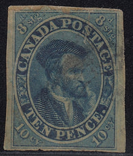 0007CA1711 - Canada #7 - Deveney Stamps Ltd. Canadian Stamps
