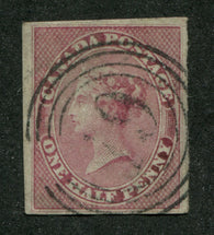 0008CA1708 - Canada #8 - Deveney Stamps Ltd. Canadian Stamps