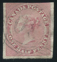 0008CA2002 - Canada #8i, 4-Ring Numeral Cancel '30'