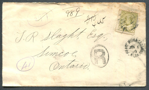 0092CA1910 - #92 on 'Beaver Lodge', ALTA. Registered Cover