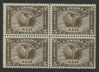 0002CA1708 - Canada C2 - Mint Block of 4 - Deveney Stamps Ltd. Canadian Stamps