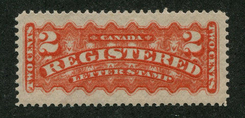 0600CA1708 - Canada #F1bv - Mint, Major Re-Entry