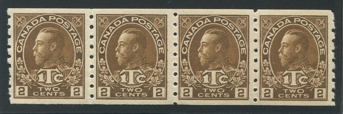 0166CA1710 - Canada MR7 - Mint Strip of 4