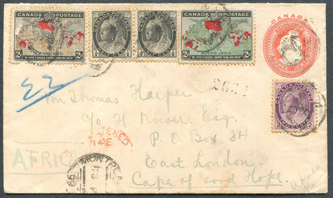 0074CA1908 - #74, 76, 85/86 on Foreign Destination Cover