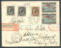 0066CA1908 - #66, 71, 86 on Foreign Destination Cover
