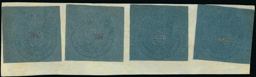 0001QC1709 - QAE11 - America Embossed Revenue Cut Squares - Deveney Stamps Ltd. Canadian Stamps