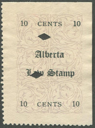 0001AL1903 - AL1 - Used, Unlisted Overprint Variety