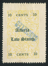 0002AL1709 - AL2b - Used - Deveney Stamps Ltd. Canadian Stamps