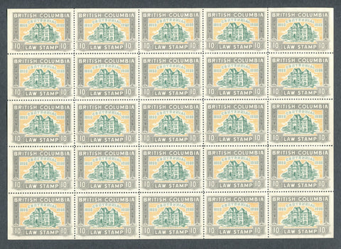 0046BC1709 - BCL46 - Mint Sheet of 25