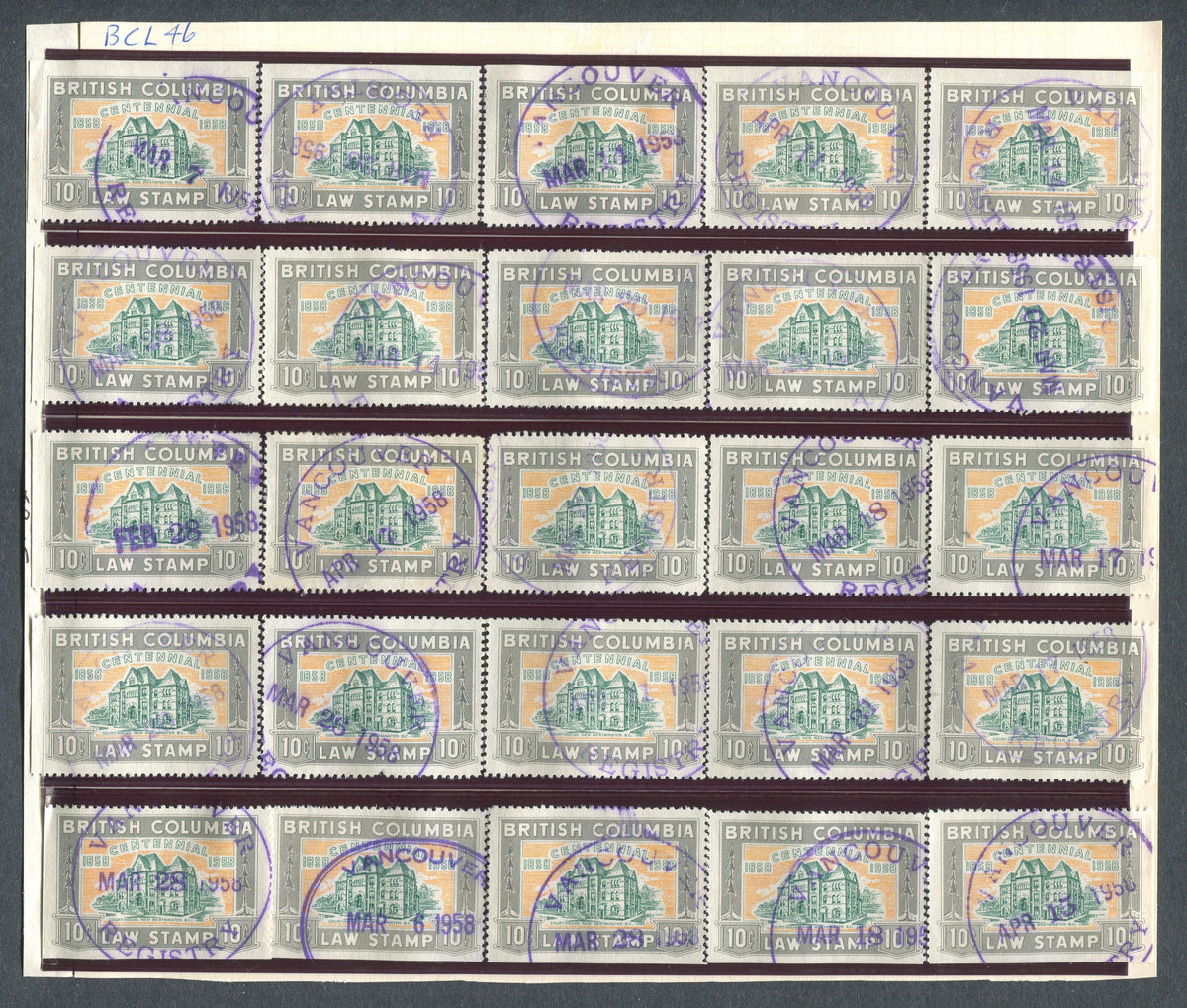 0046BC1709 - BCL46 - Used Reconstructed Sheet