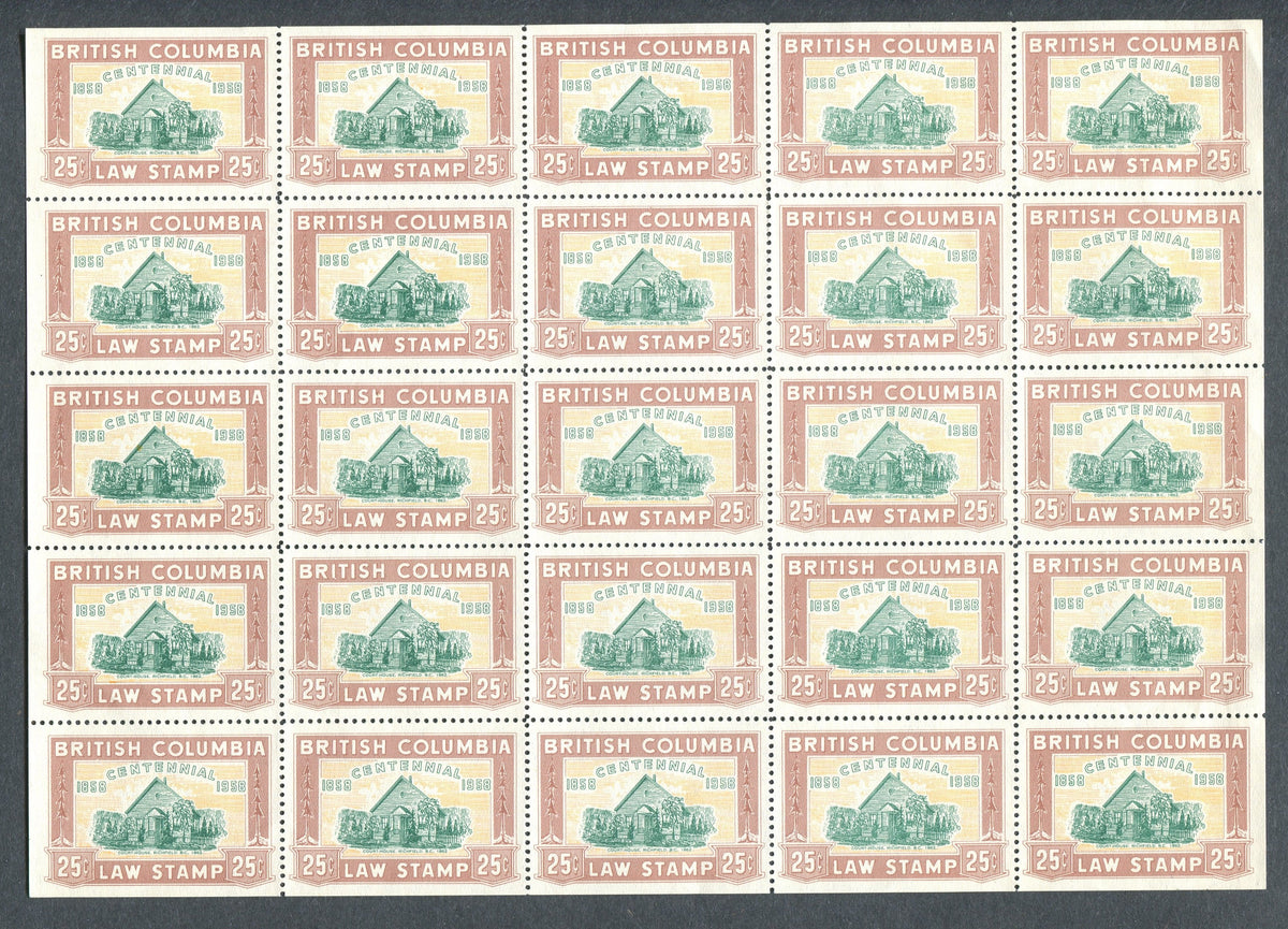 0047BC1709 - BCL47 - Mint Sheet of 25
