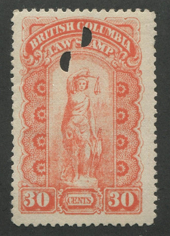 0006BC1707 - BCL6a - Used - Deveney Stamps Ltd. Canadian Stamps