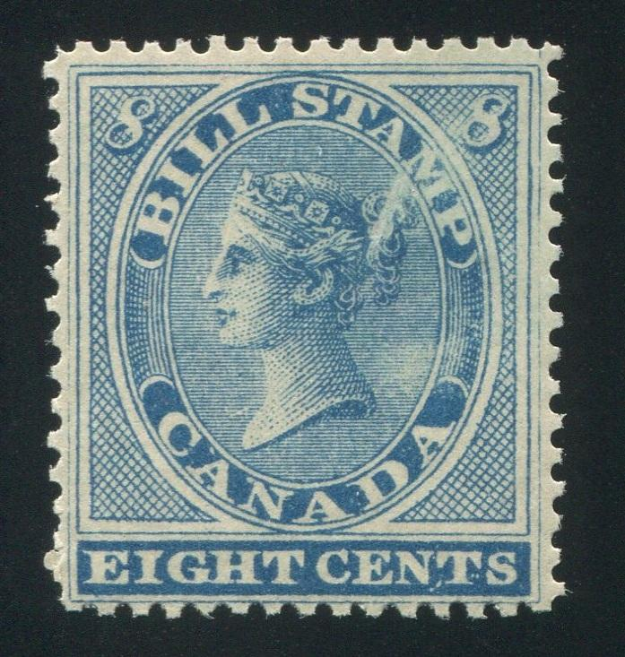 0008FB1709 - FB8a - Mint 'Feather in Bun' Variety - Deveney Stamps Ltd. Canadian Stamps