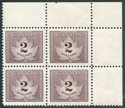 0021CF1710 - FCF4 - Mint Corner Block of 4