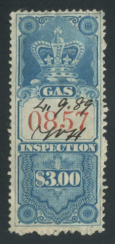 0006FG1709 - FG6 - Used - Deveney Stamps Ltd. Canadian Stamps
