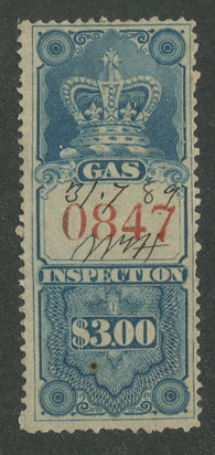 0006FG1707 - FG6 - Used - Deveney Stamps Ltd. Canadian Stamps