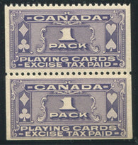 0003PC1710 - FPC1a - Mint Coil Pair - Deveney Stamps Ltd. Canadian Stamps