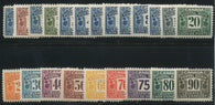 0001PS1707 - FPS1-FPS22 - Mint Set - Deveney Stamps Ltd. Canadian Stamps