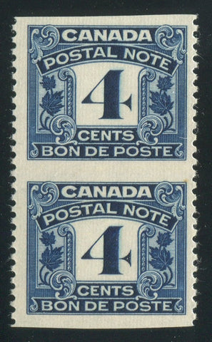 0006PS1710 - FPS6a - Mint Imperf Pair - Deveney Stamps Ltd. Canadian Stamps