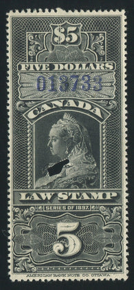 0012SC1710 - FSC12 - Used - Deveney Stamps Ltd. Canadian Stamps