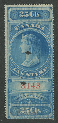0003SC1707 - FSC3 - Used - Deveney Stamps Ltd. Canadian Stamps