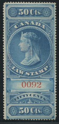 0004SC1707 - FSC4 - Used - Deveney Stamps Ltd. Canadian Stamps