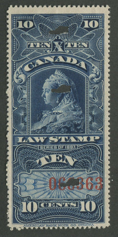 0007SC1707 - FSC7 - Used - Deveney Stamps Ltd. Canadian Stamps
