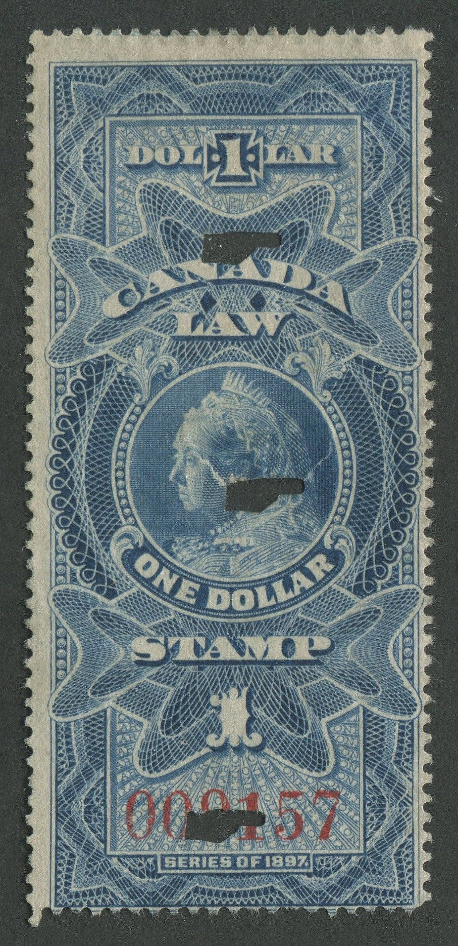 0008SC1707 - FSC8 - Used - UNLISTED - Deveney Stamps Ltd. Canadian Stamps