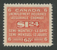 0012FU1707 - FU12 - Mint - Deveney Stamps Ltd. Canadian Stamps