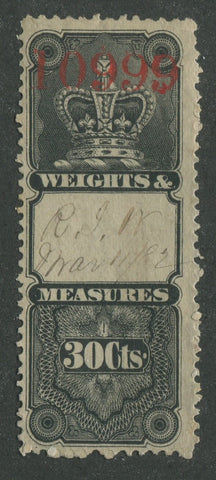 0005WM1707 - FWM5 - Used - Deveney Stamps Ltd. Canadian Stamps