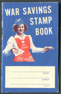 0005WS1711 - FWS - War Savings Stamp Book