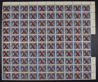 0019WT1709 - FWT10a - Mint Sheet