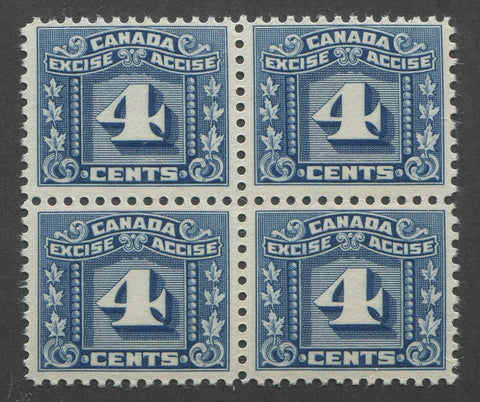 0065FX1707 - FX65 - Mint Block of 4