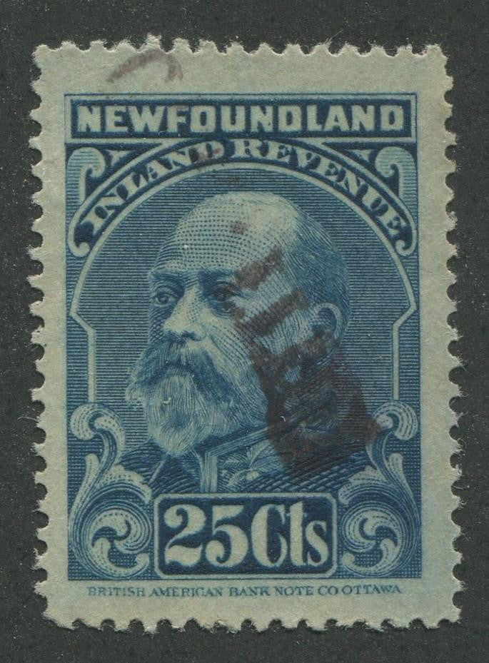 0010NF1707 - NFR10a - Used - Deveney Stamps Ltd. Canadian Stamps