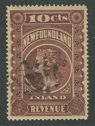 0002NF1707 - NFR2 - Used - Deveney Stamps Ltd. Canadian Stamps