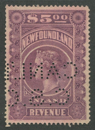 0007NF1707 - NFR7 - Used - Deveney Stamps Ltd. Canadian Stamps