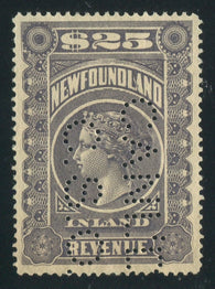 0009NF1710 - NFR9 - Used - Deveney Stamps Ltd. Canadian Stamps
