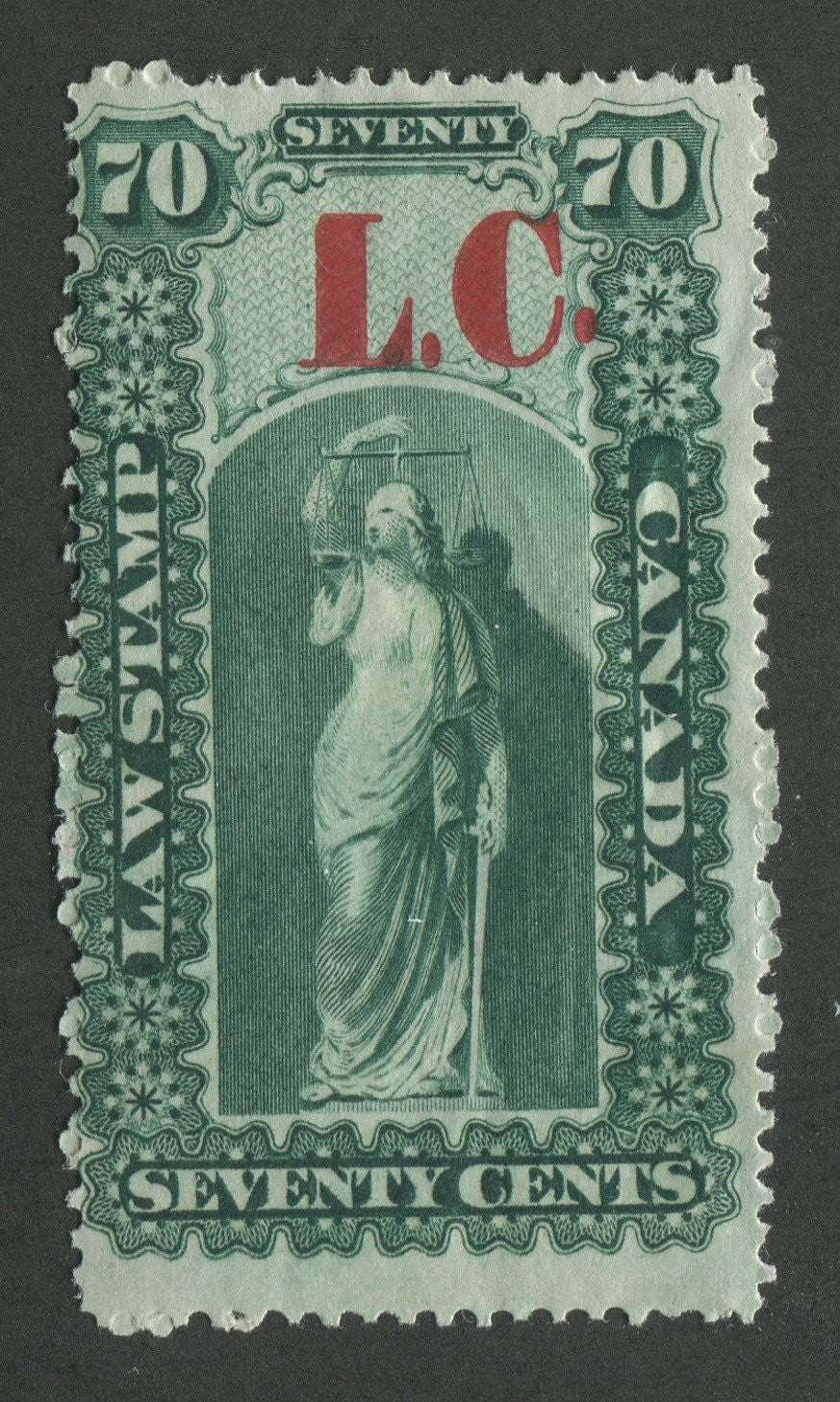 0007QL1707 - QL7 - Mint - UNLISTED - Deveney Stamps Ltd. Canadian Stamps