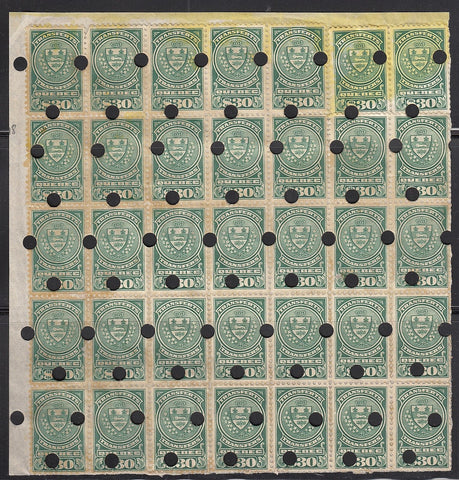0197QS1708 - QST18 - Used Block of 35