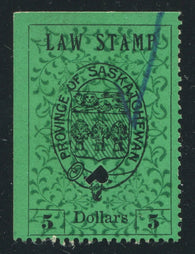 0010SL1711 - SL10 - Used - Inverted Background - Deveney Stamps Ltd. Canadian Stamps