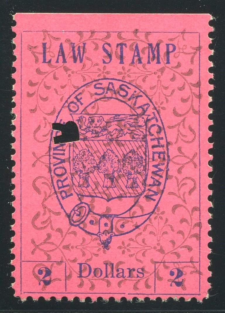 0008SL1708 - SL8 - Used - Deveney Stamps Ltd. Canadian Stamps
